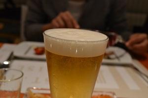 資生堂パーラーのビール