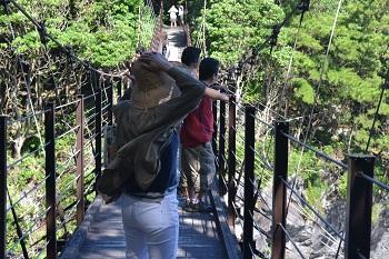 橋立の吊り橋