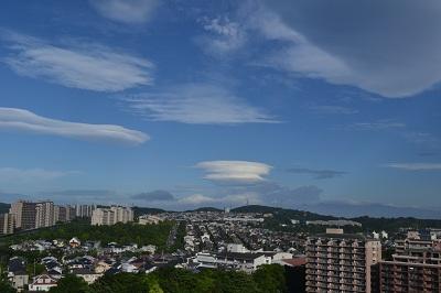 6月20日笠雲