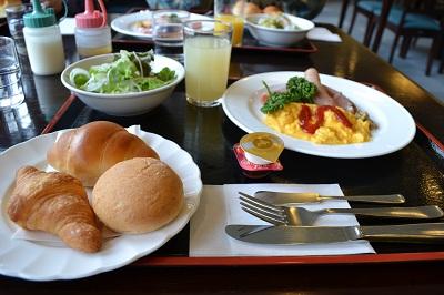 大正池ホテル朝食