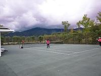 合宿テニス