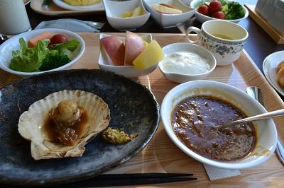 ホテル城ケ倉朝食