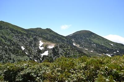八甲田の山々