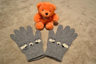 ウールの手袋